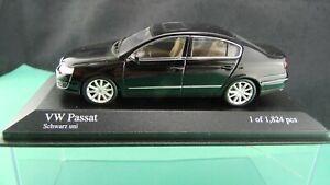 VW-Passat-2005-schwarz-Minichamps-400054000-1-43-Neu-OVP-A999