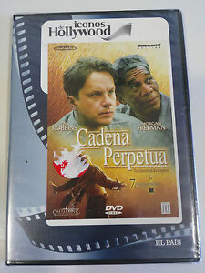 Catena Perpetua DVD Slim Tim Robbins Morgan Freeman Castellano English Nuovo