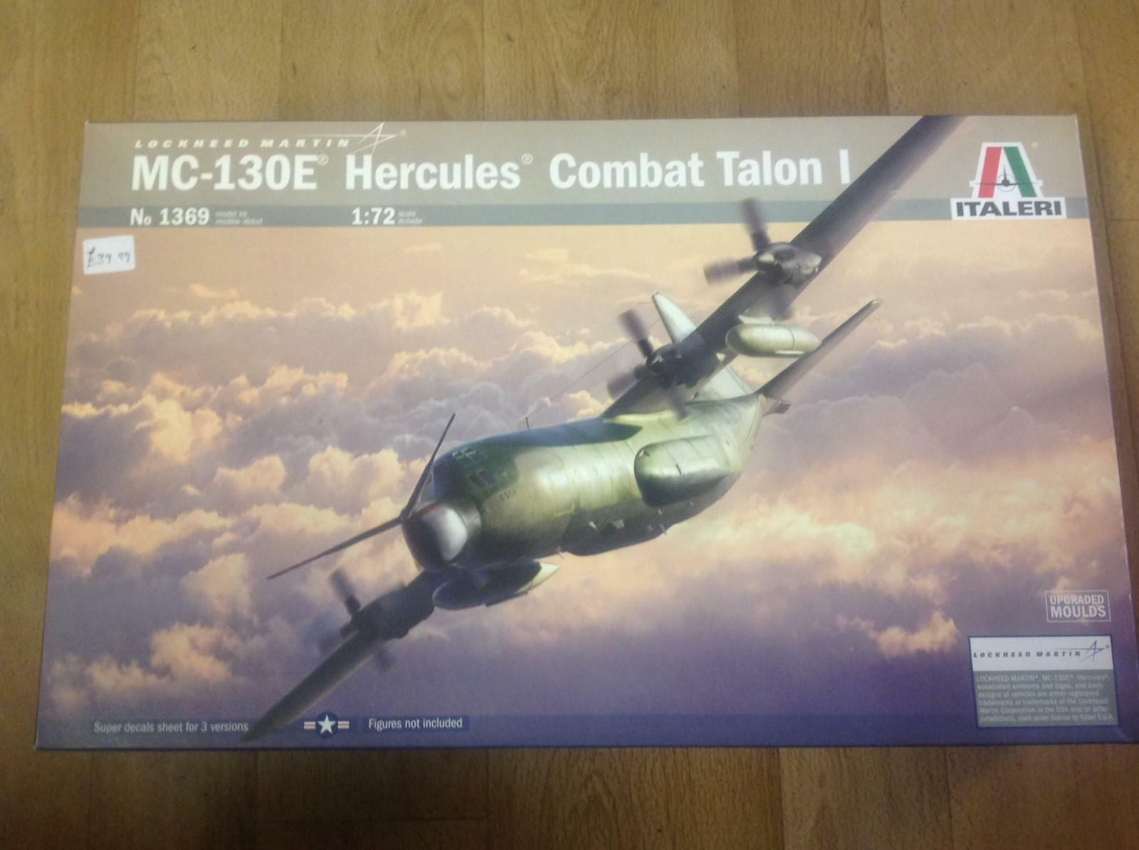 Italeri 1369 MC-130E Hercules Combat Talon 1 1 72 Scale
