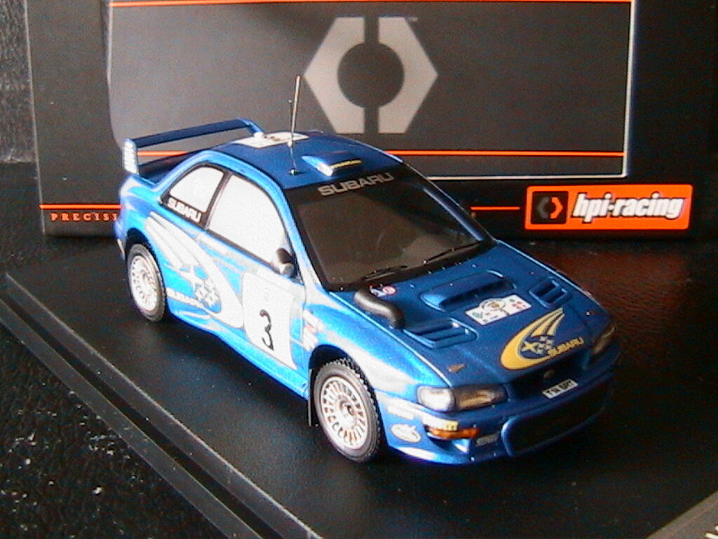SUBARU IMPREZA WRC BURNS REID SAFARI RALLY 2000 HPI RACING 8581 1 43 RALLYE