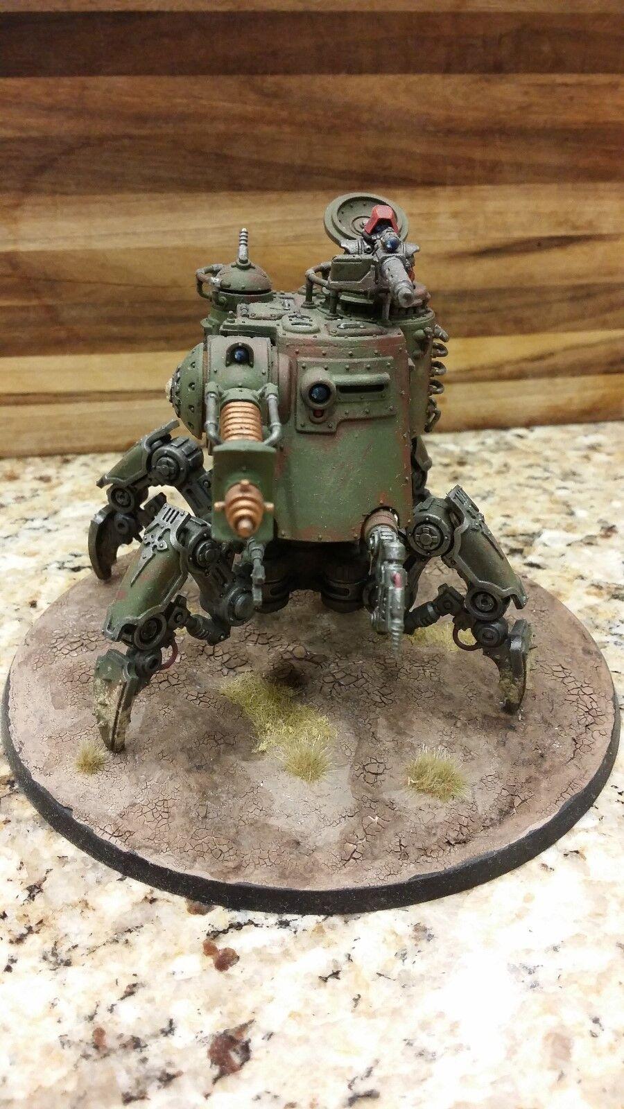 Pintado warhammer 40k adeptus mechanicus skitarii Onagro dunecrawler Pro