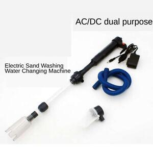 Electric-Aquarium-Cleaner-Vacuum-Gravel-Fish-Tank-Pump-Sludge-Extractor