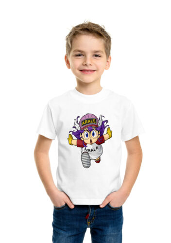 Japanese Anime Manga Arale Norimaki Birthday Kids Boys Girls Holiday T shirt 101