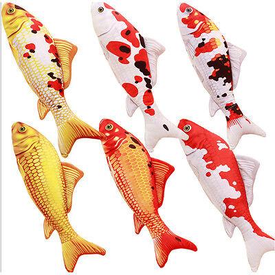 New 1Pcs Cute Fish Shape Soft Plush Throw Pillow Cushion Toy Gift 16/30cm Decor