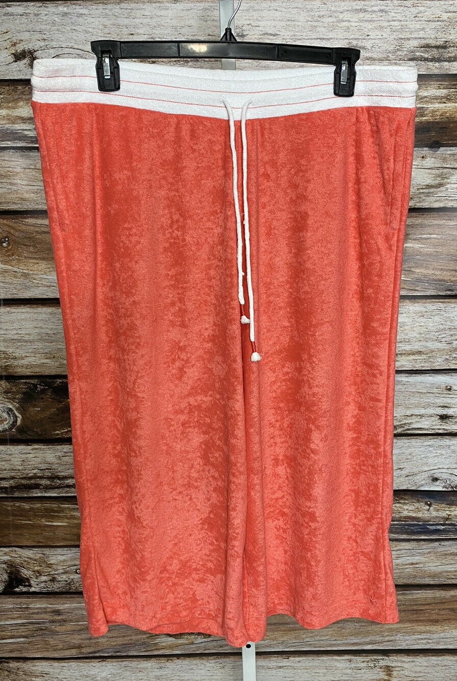 Cuddl Duds Baby Terry Gaucho Pants Womens Sz 1X T… - image 2