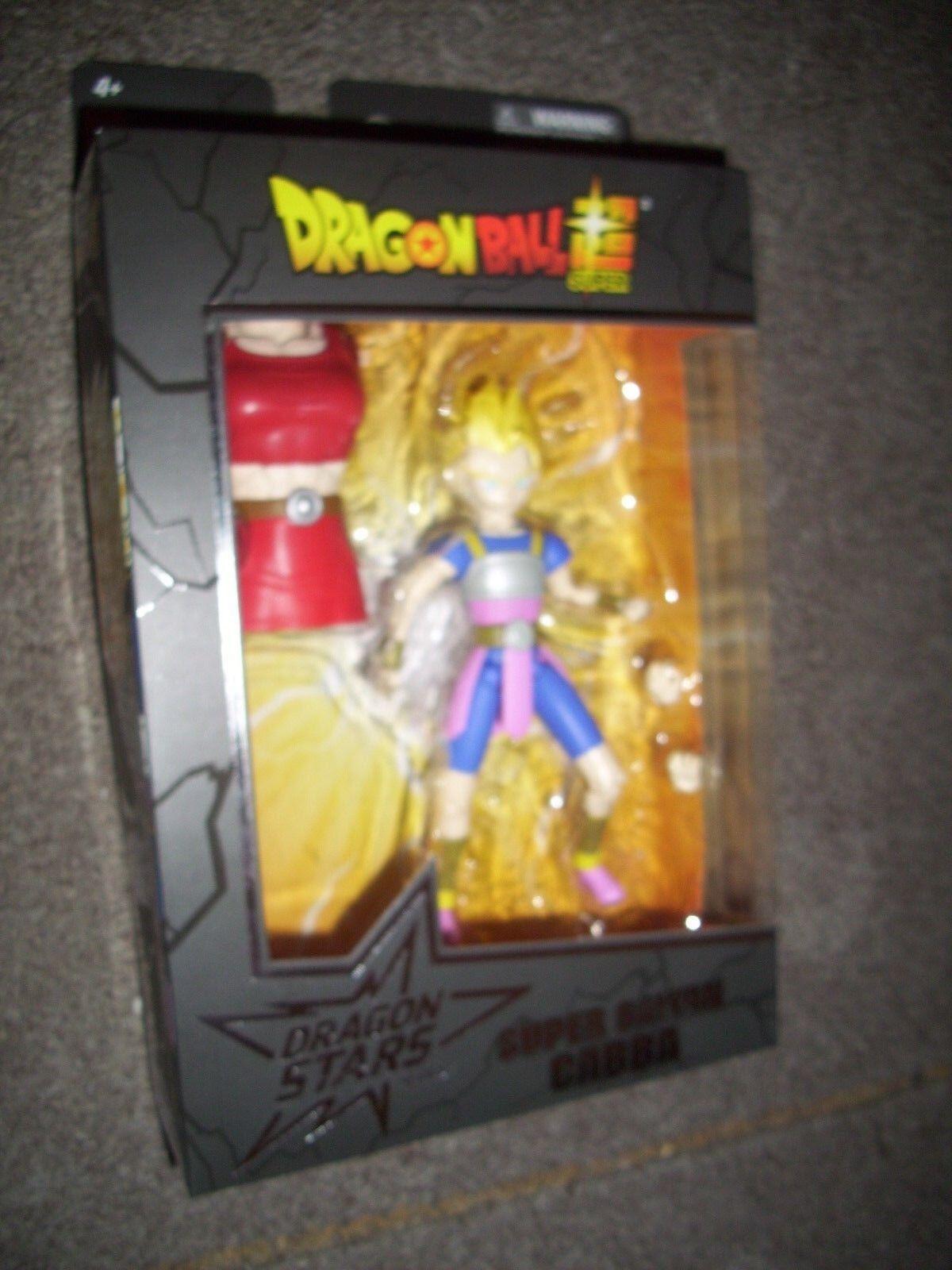 Dragon Ball Super Dragon Stars Super Saiyan cabba Figure