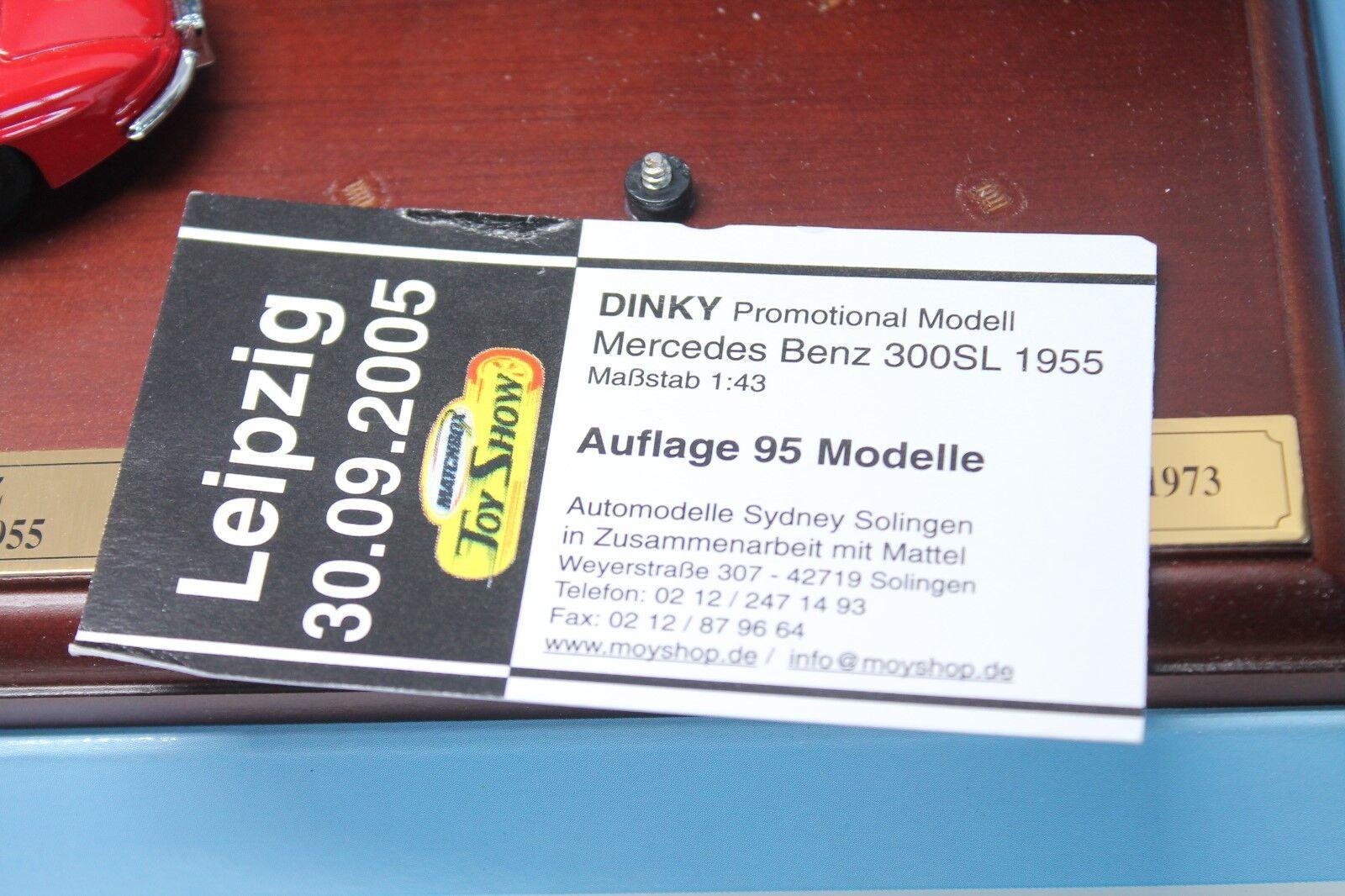 DINKY DINKY DINKY TOYS  MERCEDES BENZ 300 SL  Leipzig 2005  Neuf dans sa boîte  1:43   Paquet Solide Et élégant  1bc02a