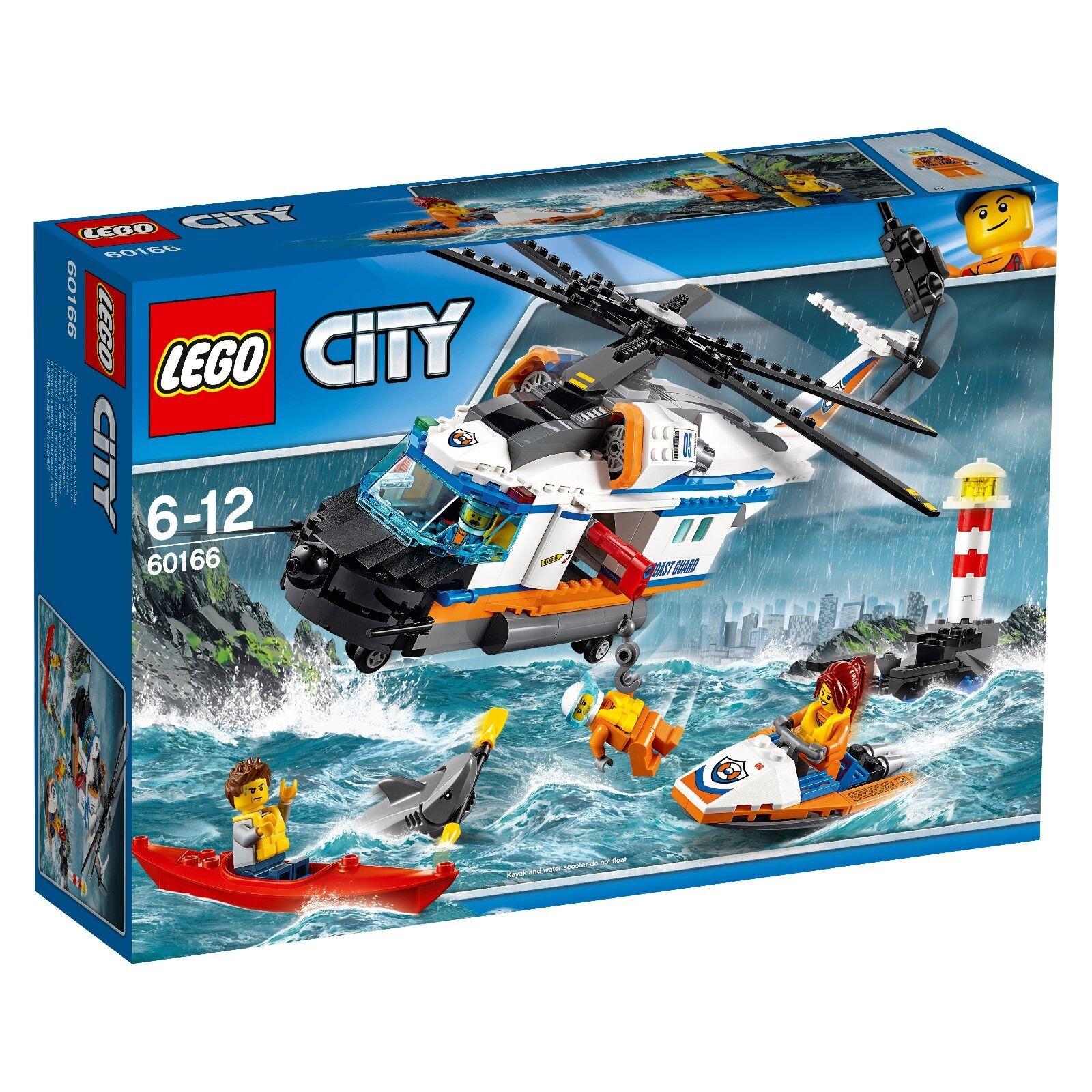 60166 60166 60166 LEGO® City - Seenot-Rettungshubschrauber   NEU UNGEÖFFNET 30bd52