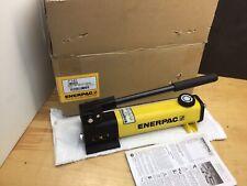Enerpac P 142 Hydraulic Hand Pump 10000psi 14 Npt 2 Speed New