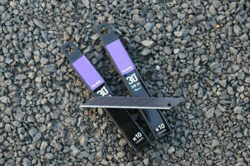 Tajima DC390 black 9mm Präzisionscuttermesser 30° und Ersatzklingen
