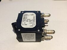 AIRPAX LELK1-1REC4-27129-923 DC Circuit Breaker 20 AMP 80 V Max  w//Aux Contacts