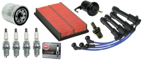 NGK V-Power Colder Spark Plugs 1990-1993 Mazda Miata Tune Up Kit