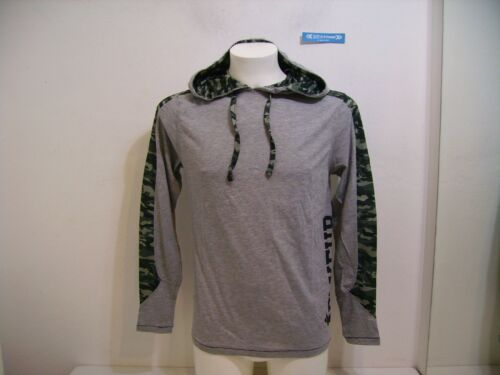 Mel Bxe2664d Gris M T Manches Melange Capuche shirt Longues Boxeur g0qCC