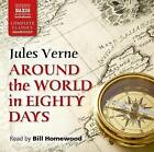 Around the World in Eighty Days by Jules Verne (CD-Audio, 2016)