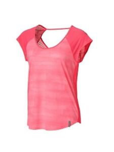 94bc5aac2cd NWT Under Armour Womens Ribbon  Power In Pink Semi-Fitted T-Shirt ...