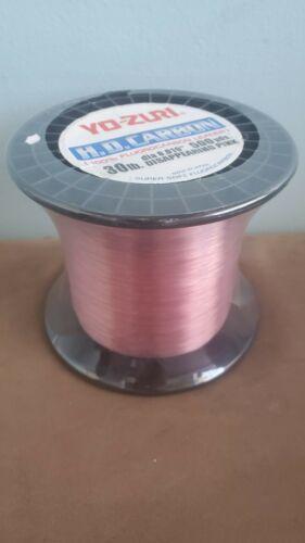 Yo-Zuri HD Carbon 500yd Fluorocarbon Leader Disappearing Pink 30lb