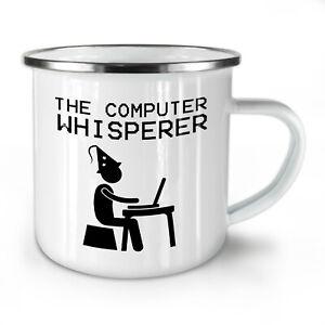 Programmer NEW Enamel Tea Mug 10 oz | Wellcoda