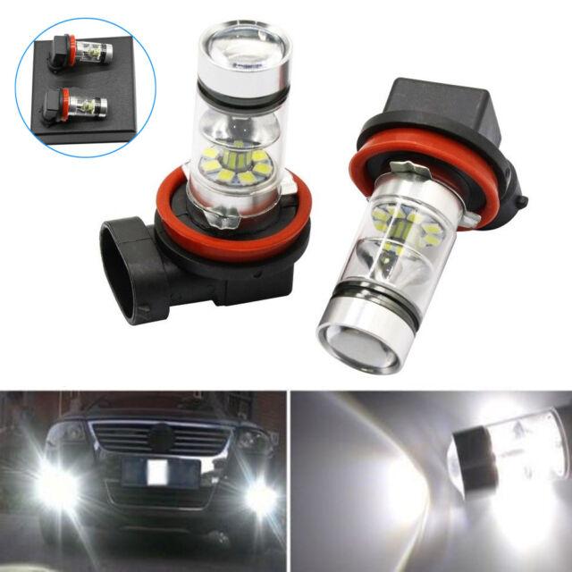 For 2006-2014 Acura RLX RL TL TSX MDX RDX H11 H8 100W LED