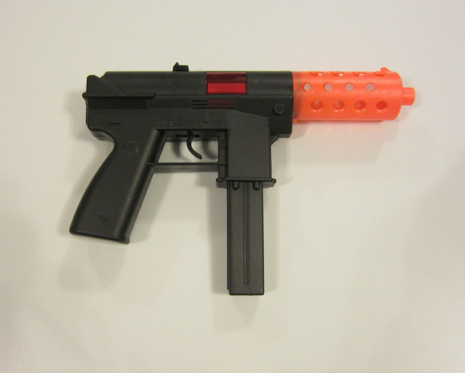 1 NEW KG9 HANDGUN TOY TOY TOY CAP GUN 9  POLICE PISTOL DETECTIVE  FIRES 8 RING CAPS c3c1e6