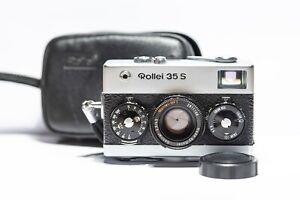Appareil Photo Argentique Compact (Film 35mm) ROLLEI 35 S 40mm 2,8 + HOUSSE/PILE