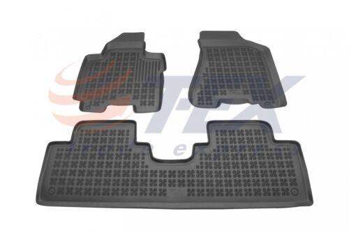 3D Gummi-Fußmatten für KIA SPORTAGE 3tlg 2004-2010 Gummimatten