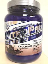 Hi-Tech Nitro Pro Hydrolyzed Whey Protein Powder CHOCOLATE 1 lb NitroPRO