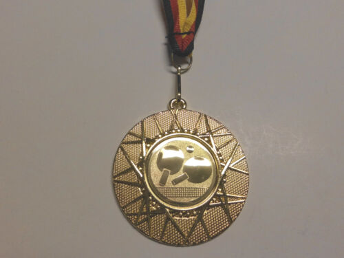 Tischtennis Pokal Kids 20 x Medaillen mit Band&Emblem Turnier Pokale (e255)