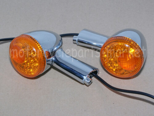 Rear LED Turn Signal Indicator Lights For fit Harley XL 883 1200 Sportster 92-16