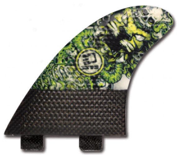 3DFins - Carbon 6.0 XDS (FCS) - Medium Large - Lionhead - Thruster - Surfboard