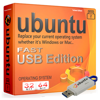 KöStlich Ubuntu Desktop 2019 (32/64bit) 16gb Usb - Boot Live Or Install - Use On Any Pc GläNzende OberfläChe
