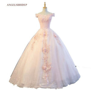 Sexy Prom Quinceanera Party Evening Bridesmaid Dress Wedding Ball Gown Custom