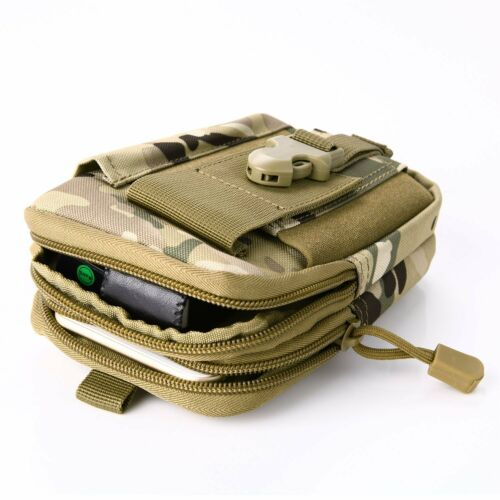 Outdoor Tactical Waist Fanny Pack Belt Bag EDC Camping Hiking Pouch Wallet Phone