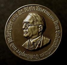 Medaille 1936, Tod Dr. Alois Baeran, Jurist und Politiker