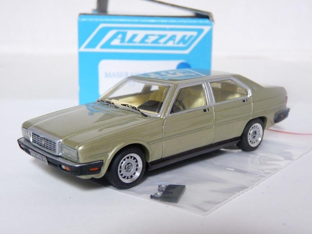 Alezan 255 1 43 1979 Maserati Quattroporte V8 Resin Handmade Model Car