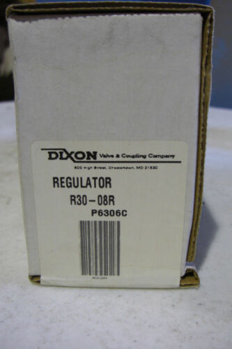 "New Dixon R30-08R 1/"" High Flow Regulator"