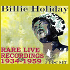 Rare Live Recordings 1935-1959 [Remaster] by Billie Holiday (CD, Dec-2007, 5 Discs, ESP-Disk)