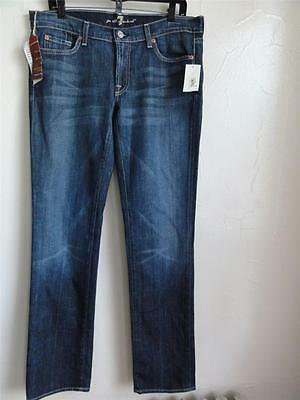 7 For All Mankind Womens Straight Leg Jean