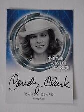 DAVID BOWIE THE MAN WHO FELL TO EARTH  Candy Clark Autograph Card