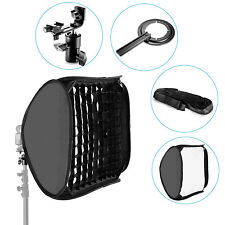"Neewer 24""x24""/60x60cm Honeycomb Grid Flash Softbox Diffuser with Bracket,Bag"