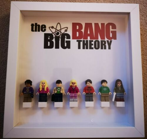 Toy Story 4 Lego Minifigure Display Picture Frames Friends Marvel