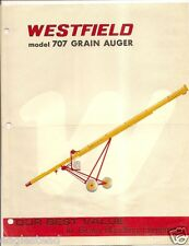 Farm Equipment Brochure - Westfield - 707 Grain Auger Rosenort Manitoba (F2824)