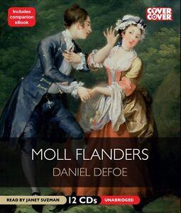 MOLL-FLANDERS-by-Daniel-Defoe-Unabridged-Audio-Book-on-CD-NEW-Janet-Suzman
