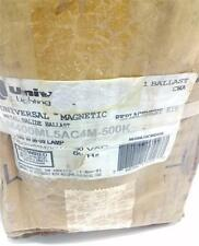 UNIVERSAL MAGNETIC METAL HALIDE BALLAST 400W M-59 LAMP M400ML5AC4M-500K NIB