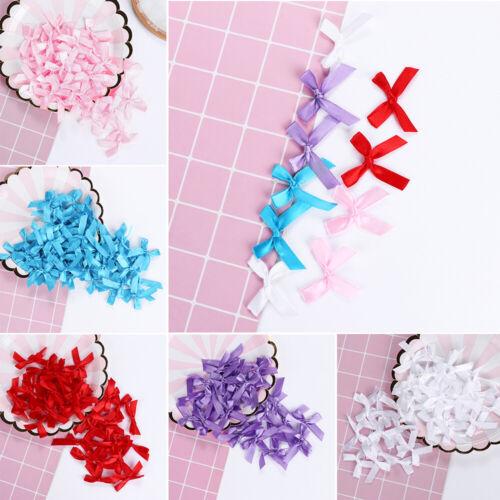 Handmade Headwear DIY Craft Satin Ribbon Bow Wedding Decoration Sewing