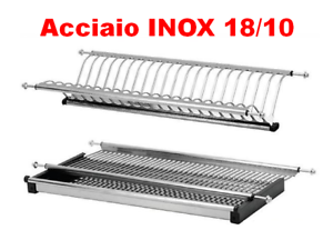 SCOLAPIATTI-ACCIAIO-INOX-18-10-AISI-304-DA-86-CM-PER-PENSILI-DA-90-CM-A-MOLLE