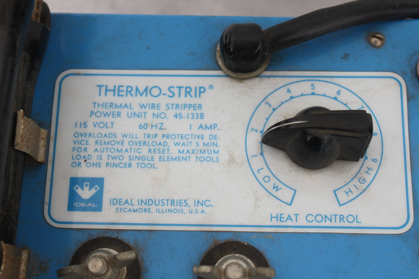 Ideal Industries Thermo-strip Thermal Wire Stripper Power Unit No ...