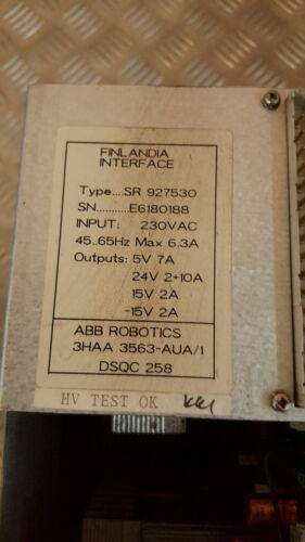 ABB 3HAA3563-AUA//1 Power Supply Modul DSQC 258