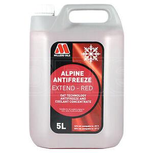 Millers-Alpine-Anticongelante-Extend-Longlife-Rojo-Anticongelante-Refrigerante-5-litros-5-L