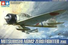 MITSUBISHI A6M2 ZERO/ZEKE (W/PILOT FIGURES) /JAPANESE NAVY MKGS/ 1/48 TAMIYA