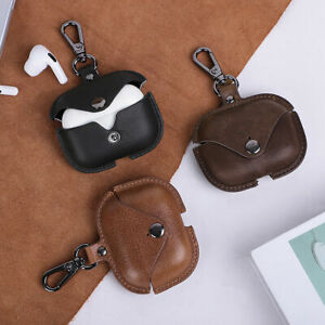 Vintage Leather Protective Cover Skin For Apple AirPods Pro 2/1 Charging Case